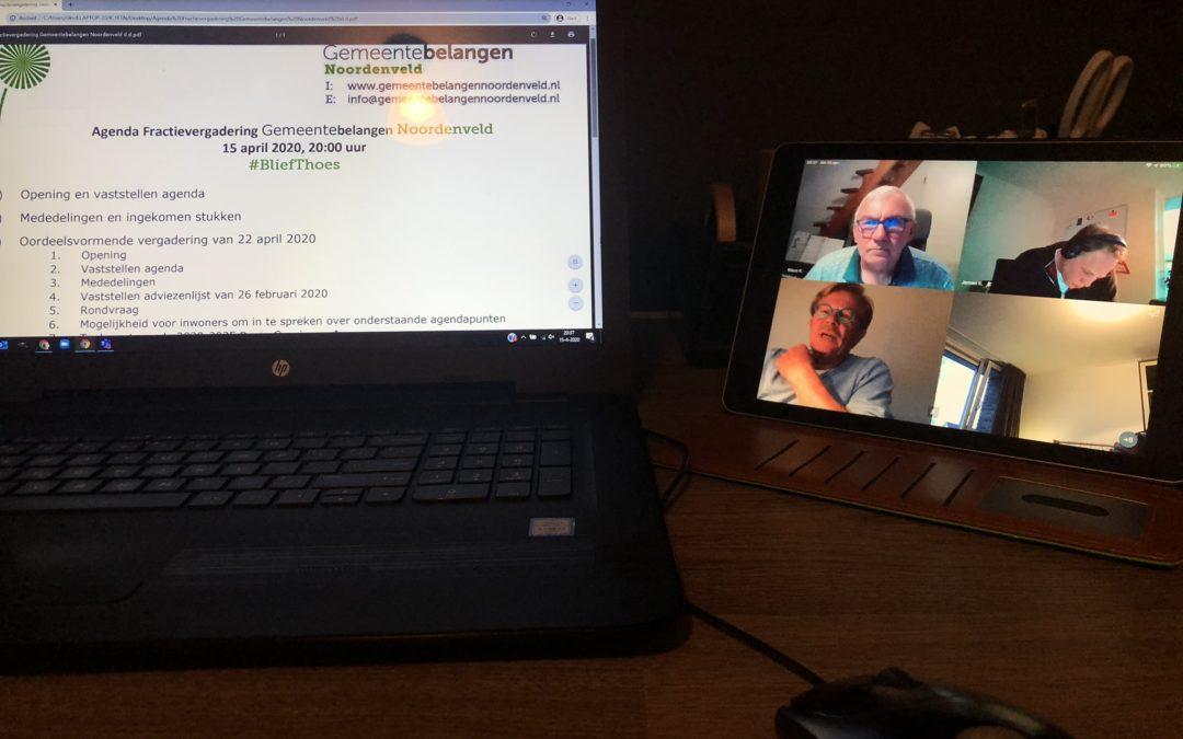 Digitale fractie en raadsvergaderingen