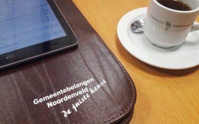 De Fractie van Gemeentebelangen vergadert woensdag 19 februari in Norg en nodigt inwoners uit.
