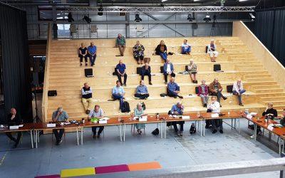 Raadsvergadering van 30 september weer online.